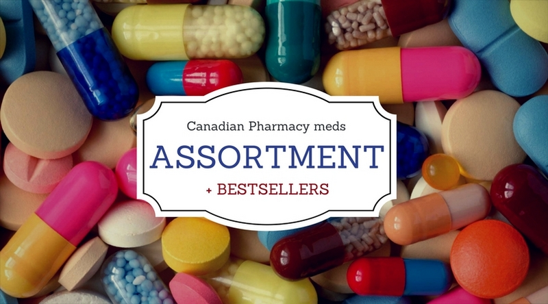 Canadian Pharmacy meds Assortment