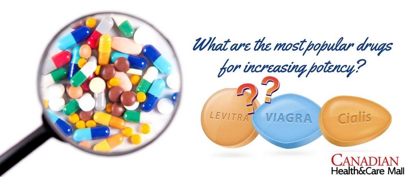 drugs for increasing potency