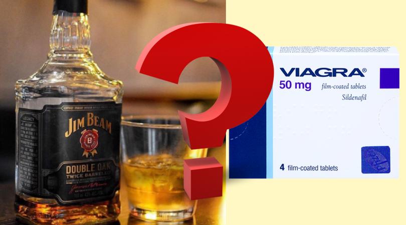 Alcohol with Viagra