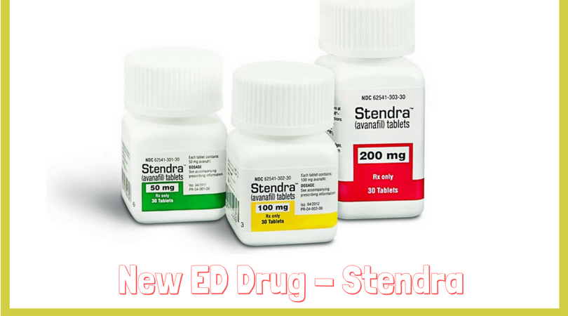 New ED Drug - Stendra
