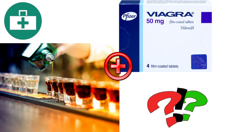 Viagra Online and Alcohol