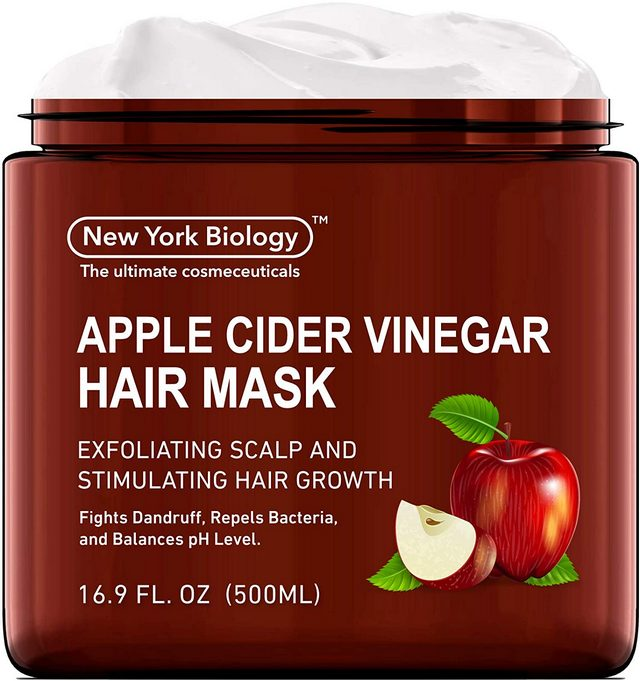 Apple Cider Vinegar Hair Mask for Dry Hair and Scalp