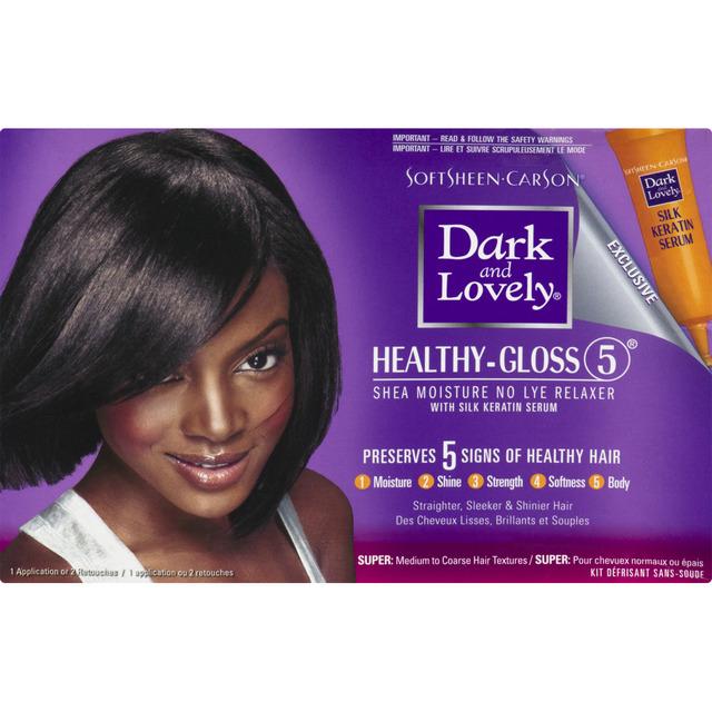SoftSheen-Carson Dark and Lovely Healthy-Gloss 5 Shea Moisture No-Lye Relaxer